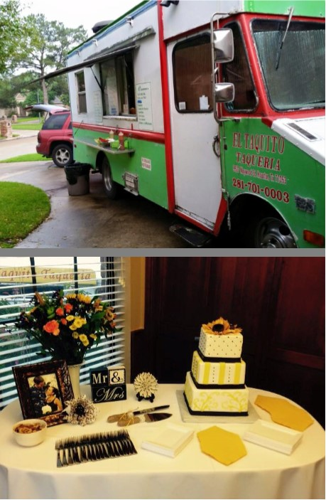 Cake Table & Food Truck