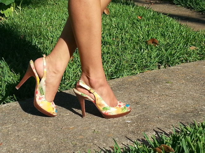 Beachy Floral Shoes